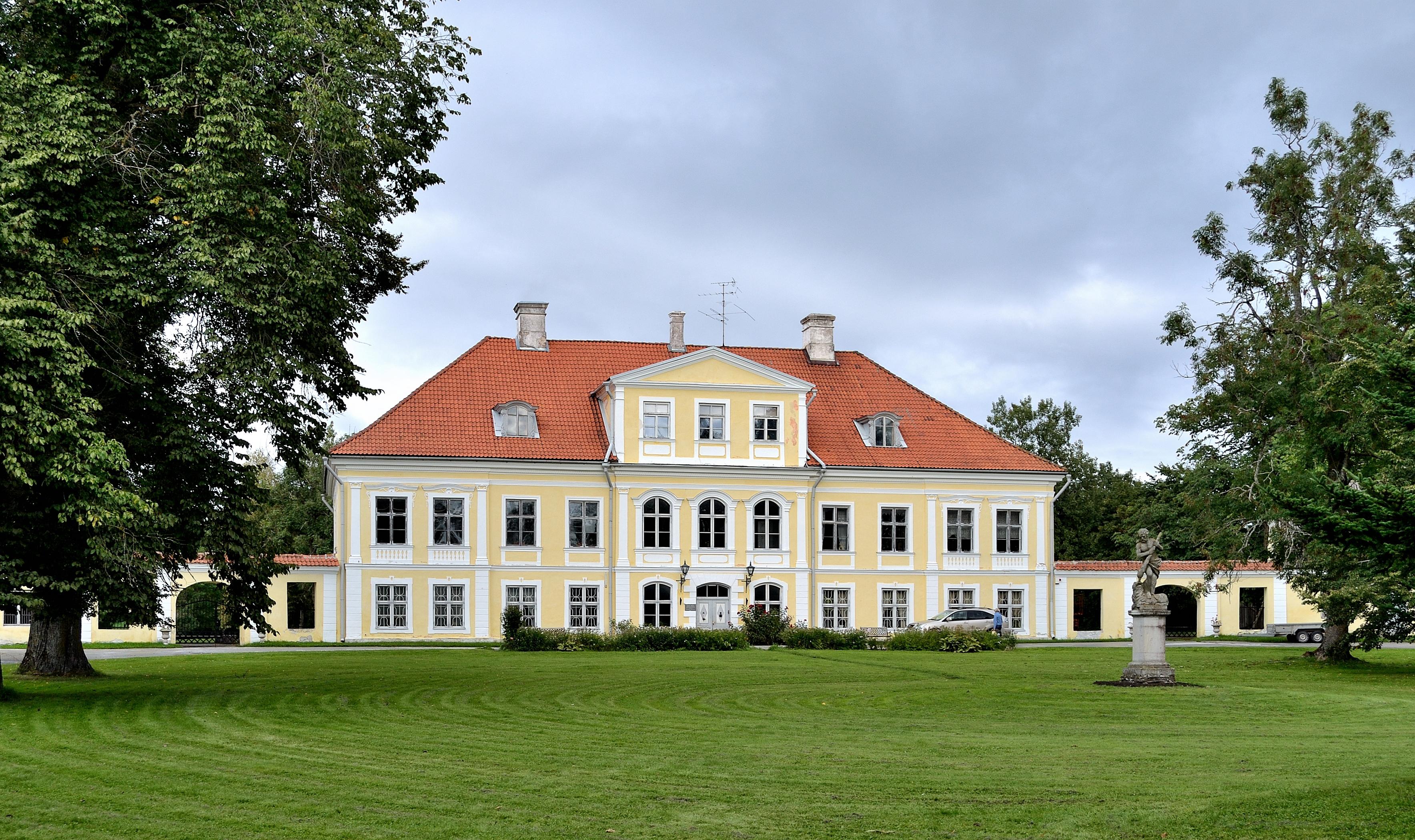 Gutshof Saue (dt. Klein-Sauß, Friedrichshof)